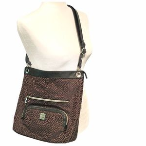 RELIC by FOSSIL Adjustable Monogram 2-Toned Purse